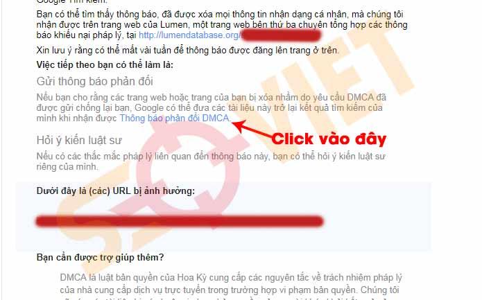 Hướng dẫn kháng cáo DMCA, Gỡ khi bị report DMCA