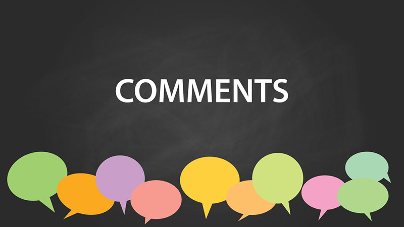 thiết kế comment cho website