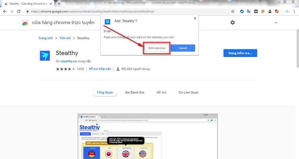 Google Chorme không vào được Facebook 28