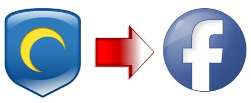 Vào Facebook bằng Hotspot Shield 19