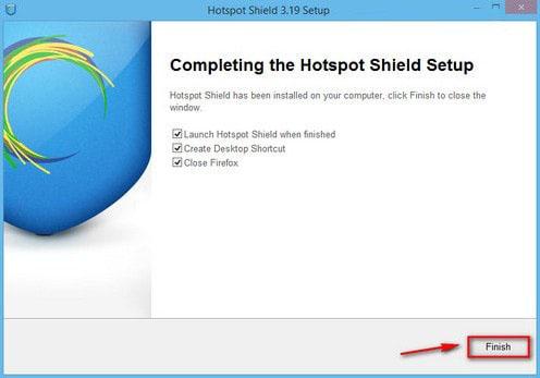 Vào Facebook bằng Hotspot Shield 22