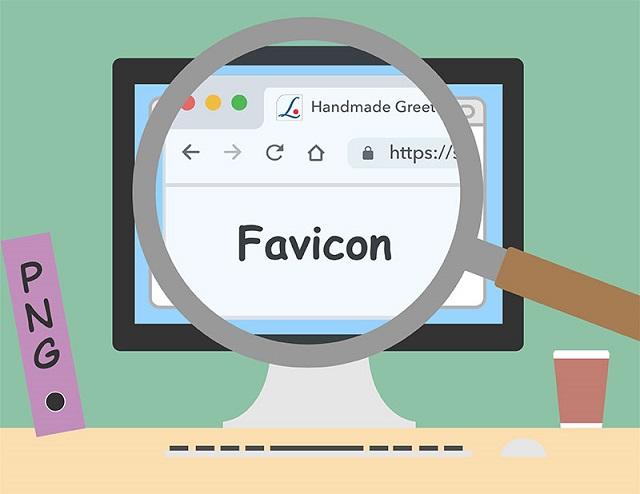 thiết kế Favicon đượ chuẩn nhất