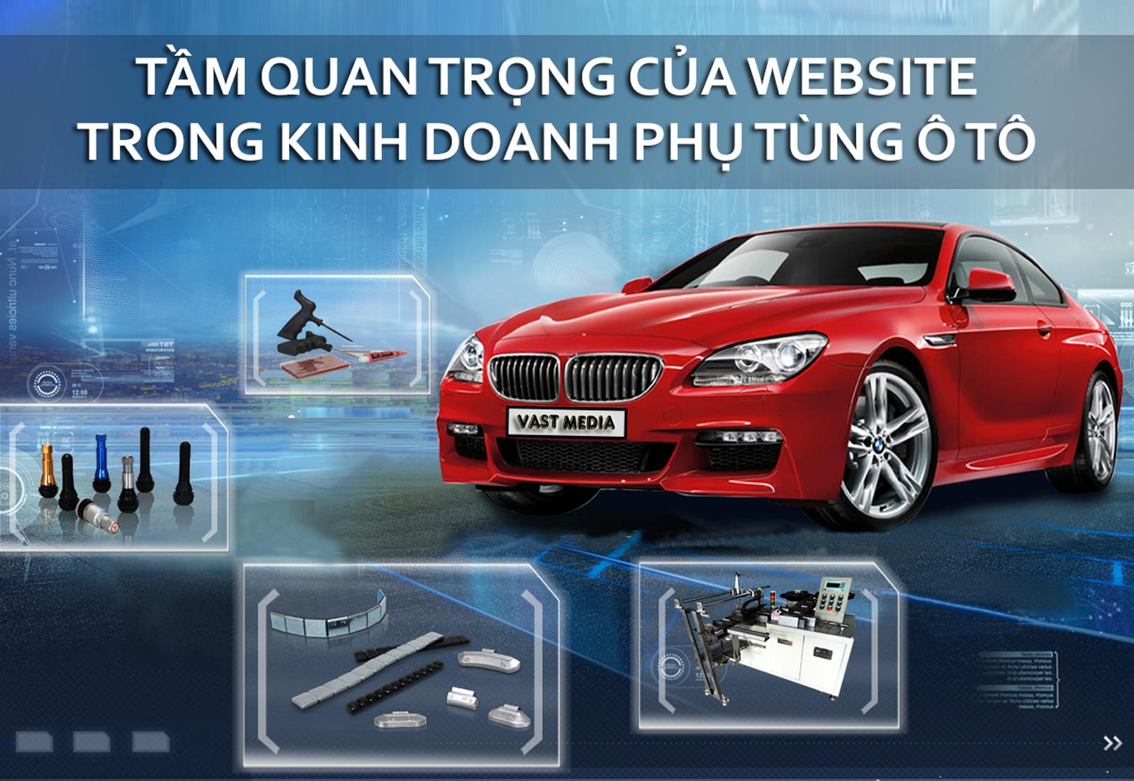 lợi ích của website xe ô tô