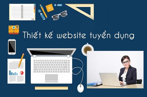thiết kế web tuyển dụng