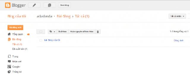 tạo website bán hàng bằng blogspot