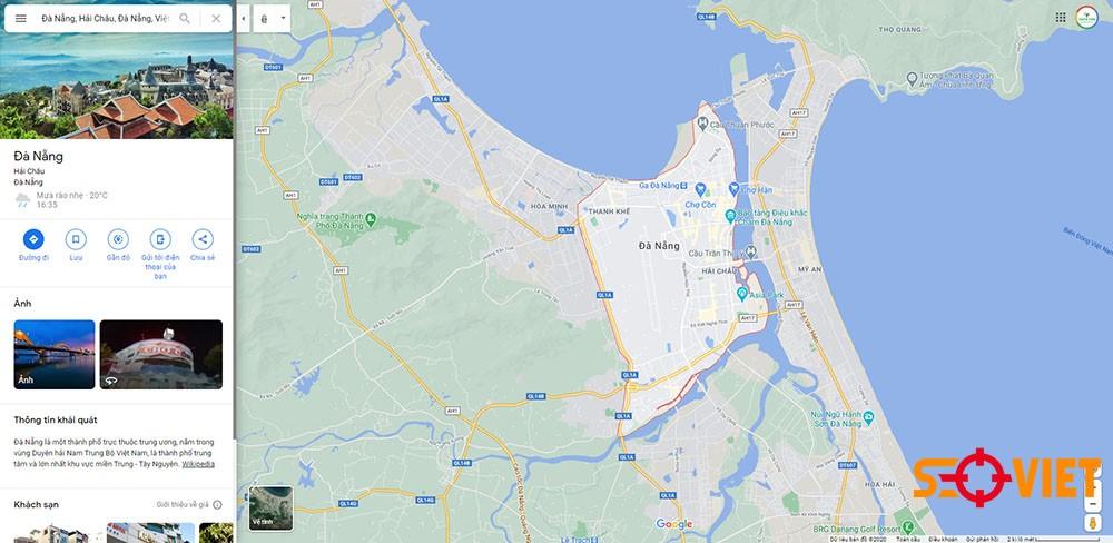 Google map Đà Nẵng