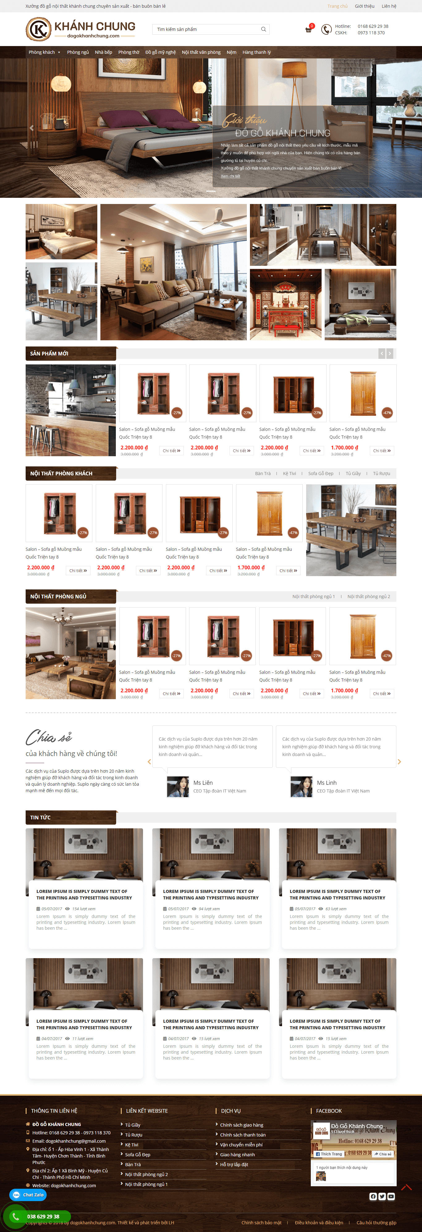 Đồ gỗ nội thất