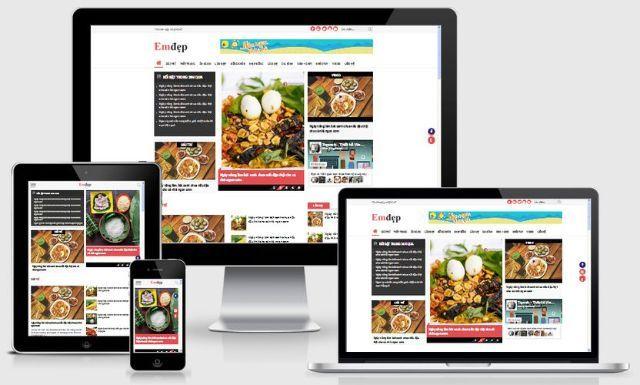 thiết kế website tin tức 3