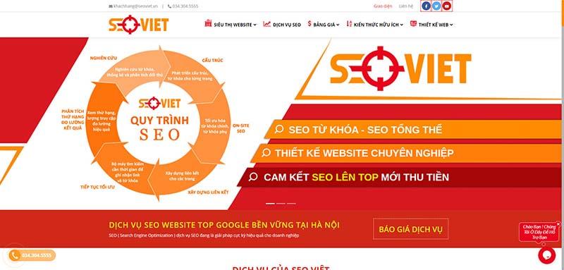 Quy trình dịch vụ seo tại Hồ Chí Minh của Seo Việt