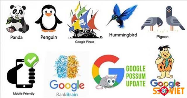 Website bị phạt do thuật toán Google