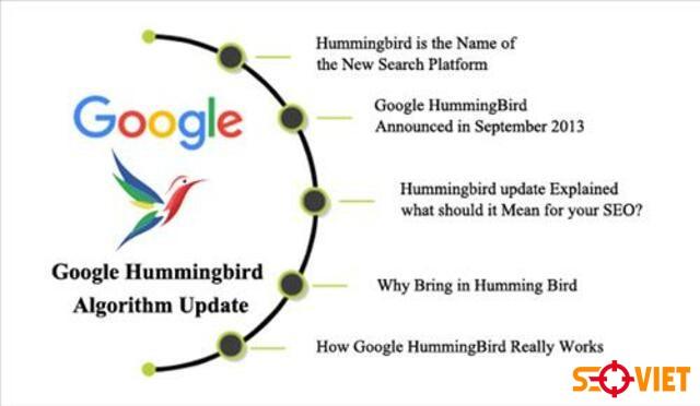 thuật toán Google HummingBird 1