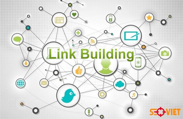 tiến hành xây dựng liên kết cho website