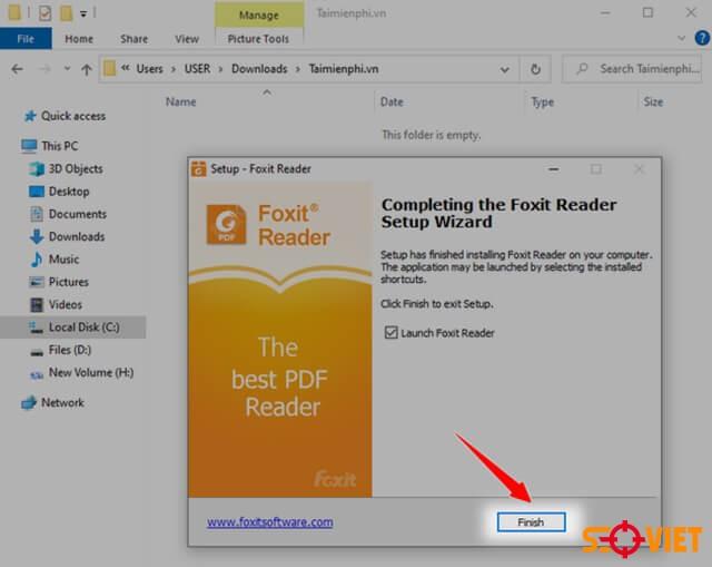 tải foxit reader 10