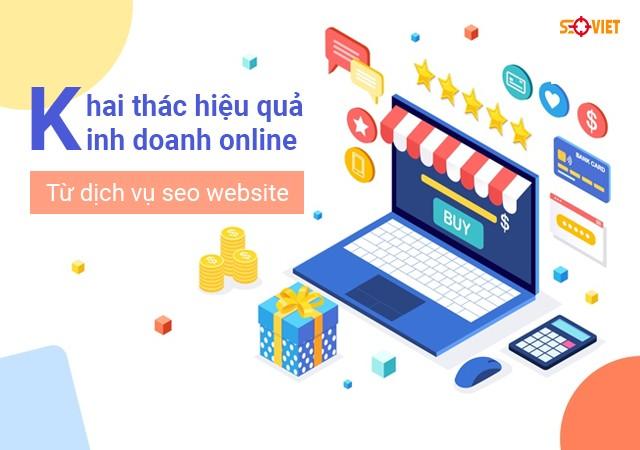 Khai thác hiệu quả kinh doanh online từ dịch vụ seo website | Báo Diễn Đàn Doanh Nghiệp