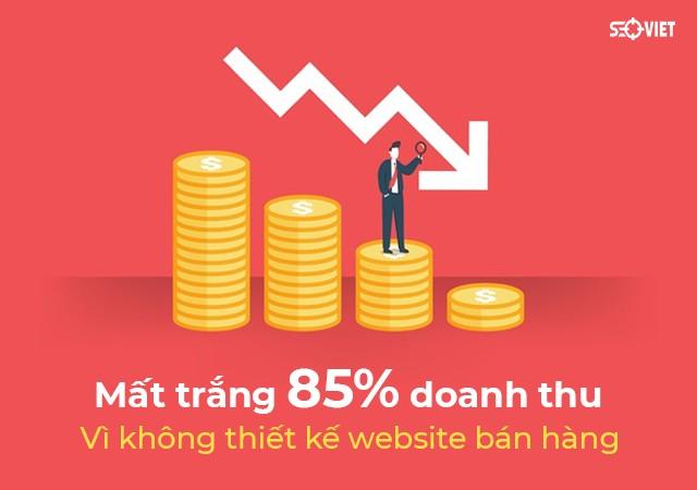 Mất trắng 85% doanh thu vì không thiết kế website bán hàng | Báo Đời Sống & Pháp Luật
