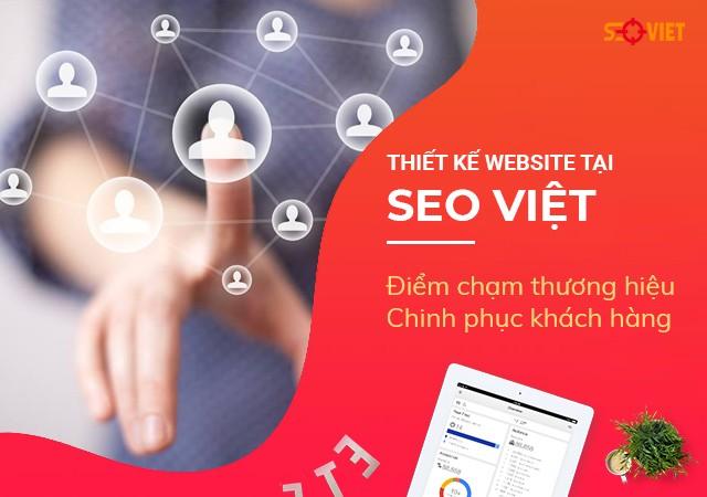 Thiết kế website tại SEO VIỆT: Điểm chạm chinh phục khách hàng | Báo Đất Việt