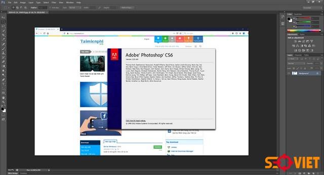 Hướng dẫn cài đặt Adobe Photoshop CS6 sử dụng vĩnh viễn