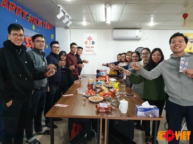 Đội ngũ nhân viên seoviet