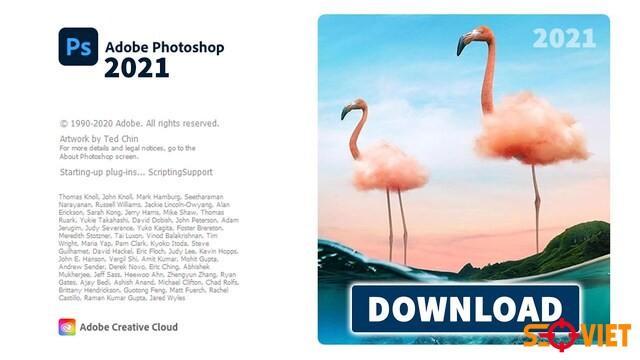 (Miễn phí) Download Photoshop CC 2021 bản chuẩn + Cài đặt
