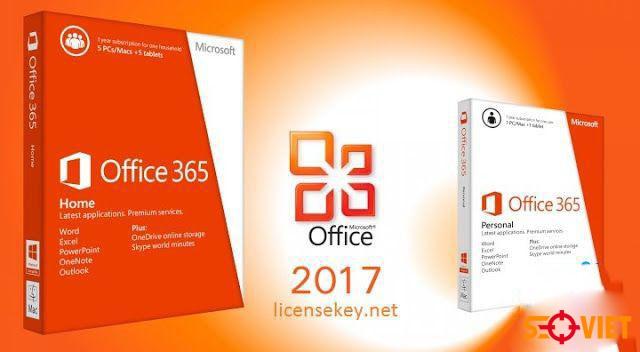 [Đã test] Hướng dẫn download Microsoft Office 2017 chi tiết